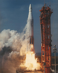 FIRE 2 reentry heating experiment being launched, NASA photo Fire2.jpg