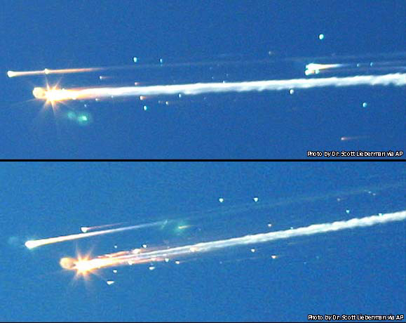 space shuttle columbia reentry - photo #5